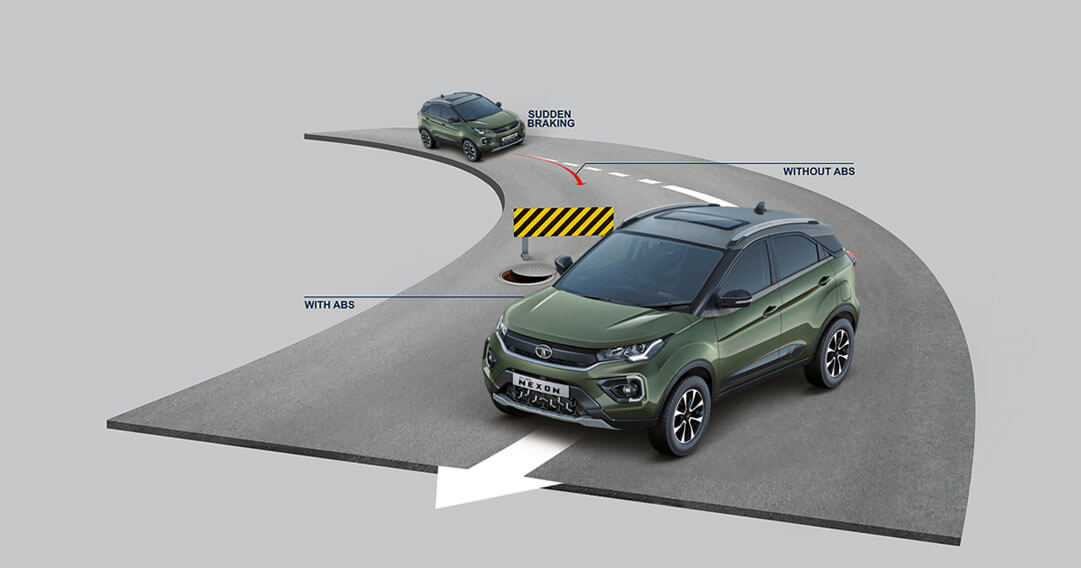 Tata Nexon ABS with EBD as Standard