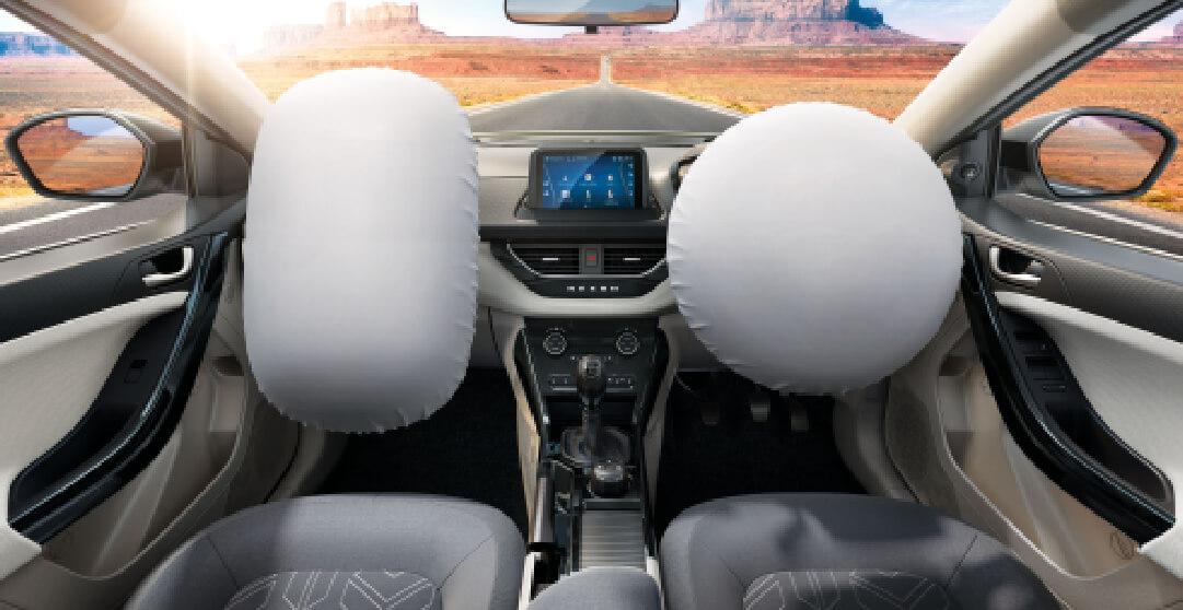 Tata Nexon Dual Frontal Airbags