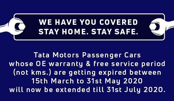 Tata Motors - Covid-19 Lockdown Message