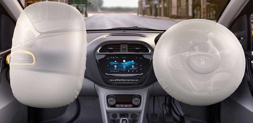 Tata Tiago dual airbags