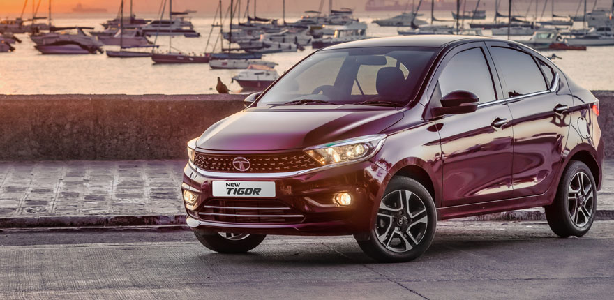 2020 Tata Tigor exterior front