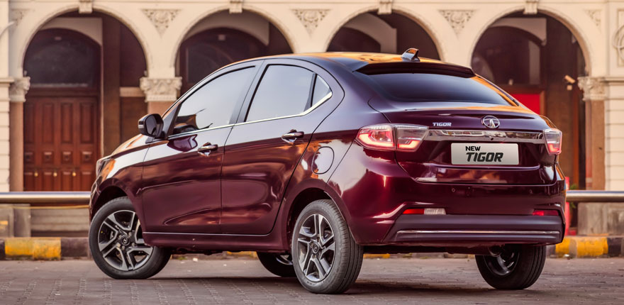 2020 Tata Tigor exterior rear